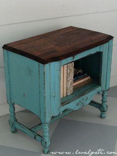 aqua cabinet @ Lovely etc.