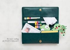 40+ DIY Travel Activities - DIY Activity Wallet
