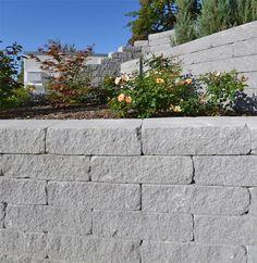 Luxury Vermont Bruchsteinmauer Mauer in Polargrau