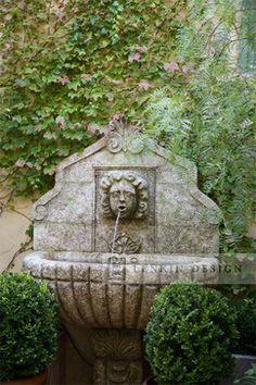 Stone Fountain traditional landscape
