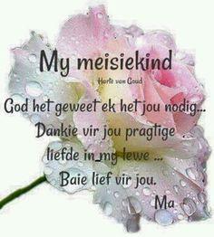 My meisiekind... #Afrikaans #FamilyTies #daughter
