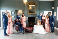 Dee and Keith's beautiful, relaxed Clonabreany House wedding Irish Wedding, Rustic Wedding, Bridal Party Dresses, Bridesmaid Dresses, Got Married, Getting Married, Maggie Sottero Wedding Dresses, Wedding Confetti, Real Weddings