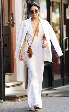 Vanessa Hudgens in a sleek sexy jumpsuit!