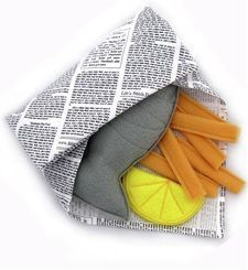 This website offers an incredible range of play food but with a difference - it is all cloth and homemade. From fish and chips, to sushi to pasta - you'll guaranteed to find something 'tasty'