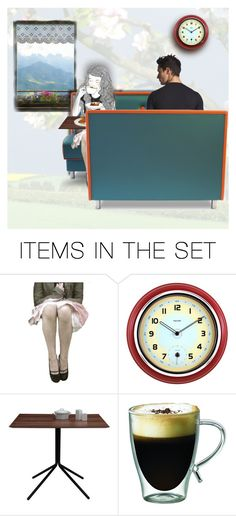 """""""Hot coffee at the mountain cafe"""" by kikilea ❤ liked on Polyvore featuring art"""