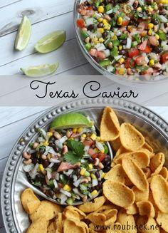 Texas Caviar Dip Recipe | Roubinek Reality www.roubinek.net