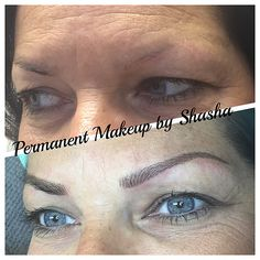 1fcb7f420ca2 Microblading Brows Natural 3D Hairstroke brows. Classic Eyeliner