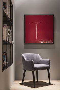LOLA chair by Meridiani - Salone del mobile 2015 - design Andrea Parisio