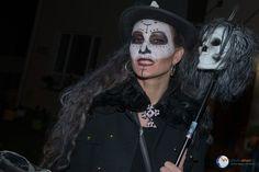 Halloween in der Aukam-Siedlung Wiesbaden. Immer wieder ein Erlebnis.