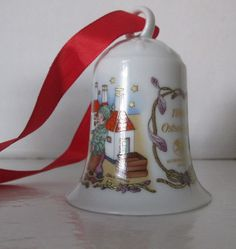 Hutschenreuther Christmas Bell 1994 Germany Boxed by RetroExchange