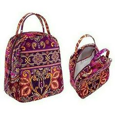 """Vera Bradley """"Safari Sunset"""" RETIRED Beautiful Vera Bradley lunchbox bag in the retired pattern, Safari Sunset. Has little wear, only used for a few months in school, so waterproof lining inside is not stained or broken. I do have cats and dogs, so I will try my best to make sure I get any hair off before I ship, but I apologize if a few slip in. Does not smell, has been well taken care of. Vera Bradley Bags"""