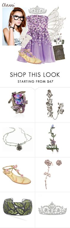 """""""Cherri - Open Roleplay // O.E (Open Eyes)"""" by little-shy-prince ❤ liked on Polyvore featuring Lydia Courteille, Elise Dray, Catherine Michiels, Wendy Yue, René Caovilla, Smith/Grey and Triumph"""