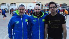 Hoy primeros #KmsSolidarios de 2016 en Cursa Sant Antoni de #Barcelona  ¡Gracias chicos! #CorrerParaCurar #CáncerInfantil #Mataró Race