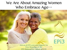 #Healthy #Quote Real Life. Real Aging. EPi3--Looking Healthy & Amazing-Start Now! www.EPi3.com #EPi3SkinRenewal