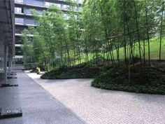 Garden for Ministry of Foreign Affairs of Japan Landscaping With Rocks, Modern Landscaping, Garden Landscaping, Urban Landscape, Landscape Design, Planting Plan, Garden Park, Garden Shrubs, Plant Design