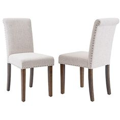 Merax Stylish Dining Chairs with Nailhead Detail and Soli... https://www.amazon.com/dp/B0711RCFQ3/ref=cm_sw_r_pi_dp_x_3yc0zbS29H57R