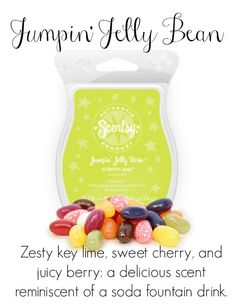Jumpin' Jelly Bean Scentsy Fragrance https://stephwilson84.scentsy.us #scentsy #jumpinjellybean