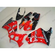 Honda VFR400R NC30 1990-1993 ABS Fairing - Others - Black/Red | $579.00