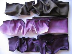 Purple ribbons :-)