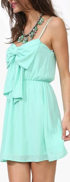 Super cute mint dress