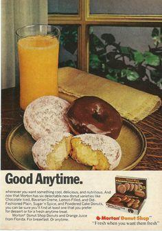 Vintage Ads, Retro Ads, Retro Food, Vintage Food, Vintage Advertisements, Vintage Items, Retro Recipes, Vintage Recipes, Breakfast Time