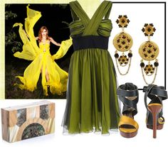 """""""Chiffon Dreams"""" by jcmp ❤ liked on Polyvore"""