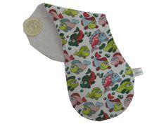 """Baby  Spucktuch  """" Name """" von Me Kinderkleidung auf DaWanda.com"""