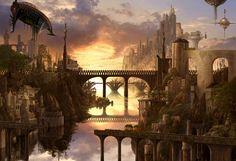 Fantasy CG digital art