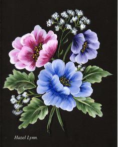 One Stroke Flowers.