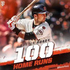 career home runs. Congrats Buster! #SFGiants