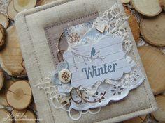 """Скраподелия: Мини-альбом """"Winter"""""""