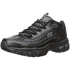 Skechers 2178 Mens After Burn Black Running Cross Training Shoes Sneakers  BHFO