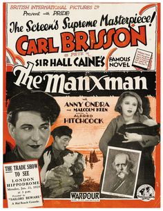 Manxman (1929) Starring: Carl Brisson and Anny Ondra. Timeless story of love and betrayal on the Isle of Man.