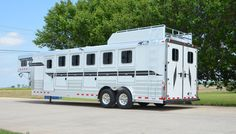 4-Star 6H Slant Load with Hayrack, Aluminum Wheels and Image Graphics 800.848.3095
