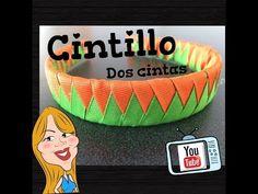 Como hacer un Cintillo de 2 cintas - How to make a headband | Creations Nani - YouTube