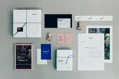 Self corporate identity designed by ONOGRIT, a design studio founded in 2014 by the award-winning designers Janina Braun and Daniela Kempkes.