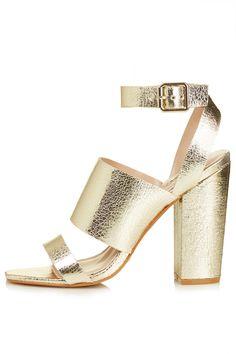 Roscha metallic high sandals