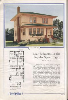 Homes of comfort, 1929 edition
