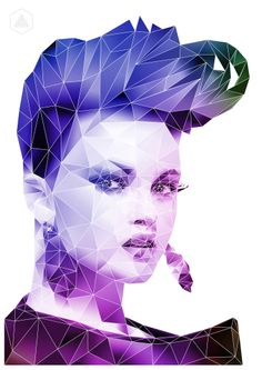 Create a Polygonal portrait in Adobe Photoshop with Illustrator: http://youtu.be/t9vpatthAgA