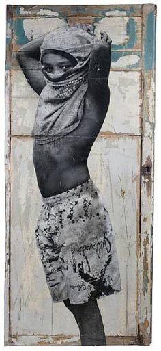 JR, 'Street Kid, Favela Morro da Providencia, Rio de Janeiro, Brasil', 2008