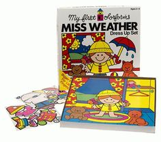 My First Colorforms - Little Miss Weather Dress Up Set