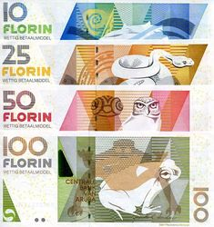 Aruban Florin Aruba Currency