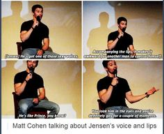 xD anyone would go gay for Jensen