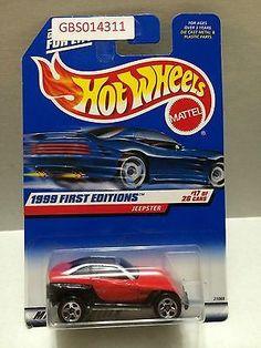 (TAS030967) - Mattel Hot Wheels Car - Jeepster