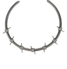 Barbed Wire Collar Necklace