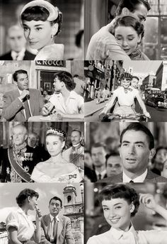 """Roman Holiday"" directed by William Wyler featuring Gregory Peck & Audrey Hepburn. One of my all time favourite movies"