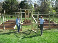 deer fence ideas