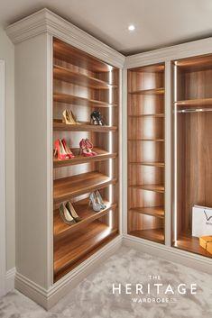 Luxury Closet Design & High End Closet Systems Wardrobe Room, Wardrobe Design Bedroom, Master Bedroom Closet, Walk In Wardrobe, Shoe Rack In Wardrobe, Wardrobe Ideas, Capsule Wardrobe, Luxury Wardrobe, Luxury Closet