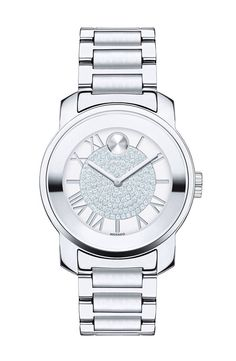 Movado Movado 'Bold' Crystal Dial Bracelet Watch, 32mm (Regular Retail Price: $595.00) available at #Nordstrom