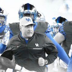 #GoToWork University Of Kentucky Football, Uk Football, Kentucky Basketball, Kentucky Wildcats, Go Big Blue, Team Player, Going To Work, Captain Hat, Sports